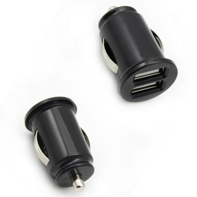 Mini 1A/2.1A 12-24V Dual USB Car Charger 4