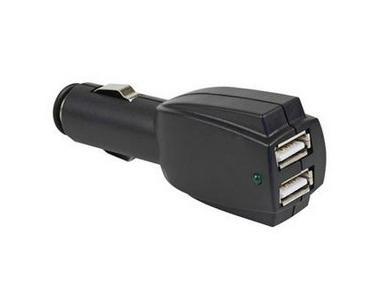 Rocket 0.5A/1A/2A 12-24V Dual USB Car Charger  3