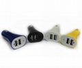 Suona 1A/2.1A 12-24V Dual USB Car Charger 3
