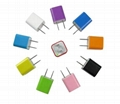 Iphone 5V 1A USB Travel Wall Charger 2