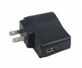 USB 5V 0.5A/1A Travel Wall Charger  3
