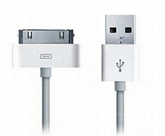 6 Pin Iphone 3G 4G 4S USB Cable AIC01