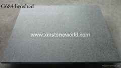 G684 black basalt tiles grey basalt