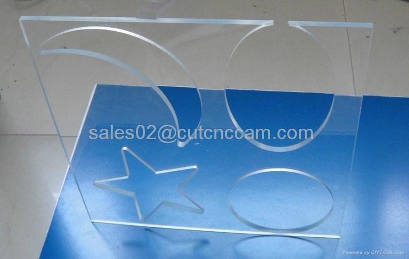 signboard acrylic KT board foam router cutter machine 3