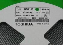 肖特基二极管 SS110 TOSHIBA/VISHAY SMA