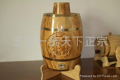 五岳一统木酒桶 1