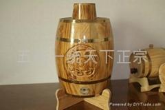 五嶽一統木酒桶