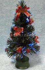 Christmas fiber tree