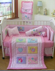2013 new style  baby bedding set 100% cotton KLF 260