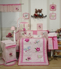 2013 new style  baby bedding set 100% cotton KLF359