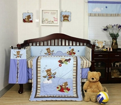 2013 new style  baby bedding set 100% cotton KLF355