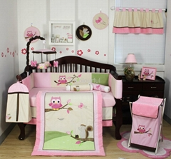 2013 new style  baby bedding set 100% cotton KLF358