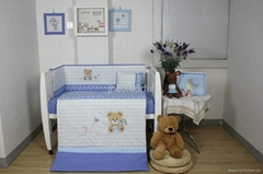 2013 new style  baby bedding set 100% cotton KLF 393
