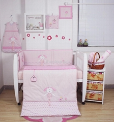 2013 new style  baby bedding set 100% cotton KLF 396