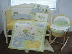 2013 new style  baby bedding set 100% cotton KLF 250