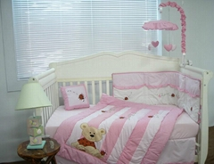 2013 new style  baby bedding set 100% cotton KLF 032