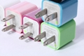 CC0020 for ipad iphone5 travel USB charger  3