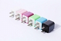 CC0020 for ipad iphone5 travel USB charger  5