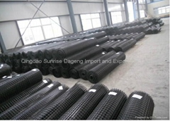 biaxial geogrid is made of high polymer