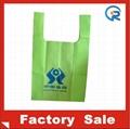 Factory customize  non woven T-shirt bag