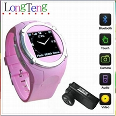 MQ998 cheap watch mobile phone touch screen+Quad-bands+Bluetooth+MP3/MP4/ FM