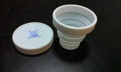 环保硅胶折叠杯