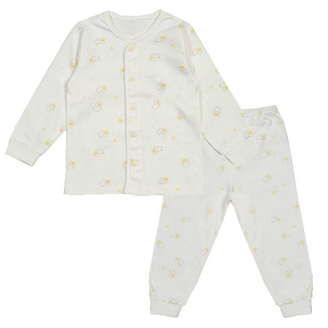 Organic Cotton Lamb Sleepwear Pajama Set 1
