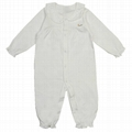 Organic Cotton Frilly Romper