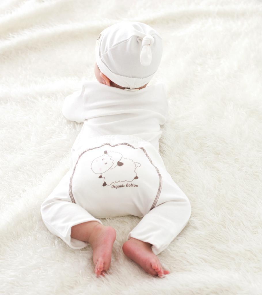 Organic Cotton Big Lamb Pants 4