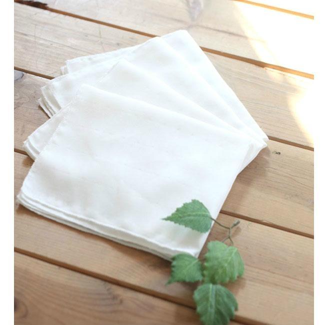 Organic Cotton Gauze  Handkerchiefs  4 Set  1