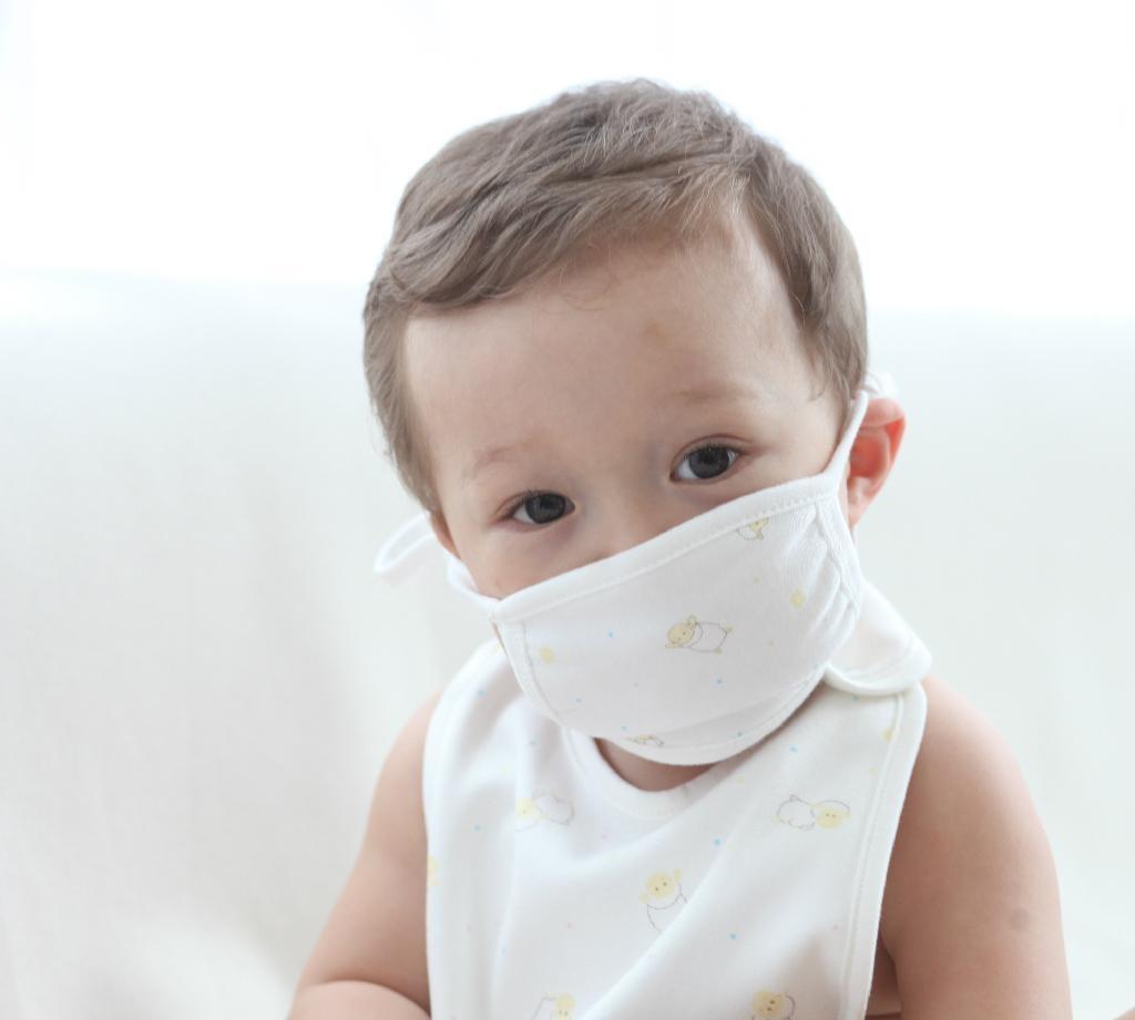Organic Cotton baby mouth Mask 2