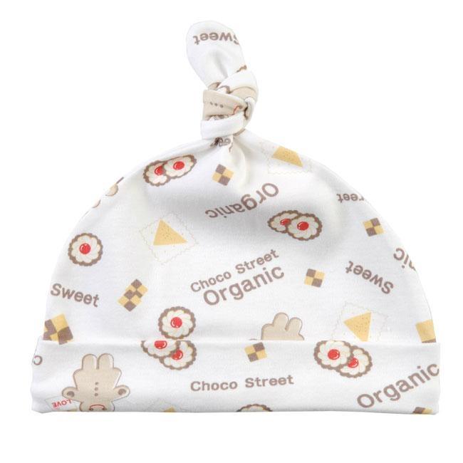 Organic Cotton Cookie Baby Hat 1