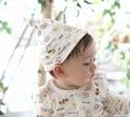 Organic Cotton Cookie Baby Hat 2