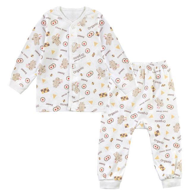Organic Cotton Cookie Sleepwear Pajama Set 1