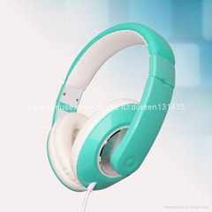 Fashion headphone for computer 2013
