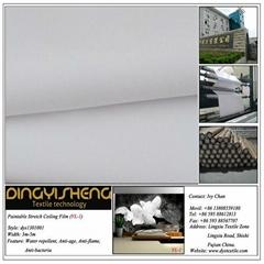 Descor Paintable Stretch Ceiling Fabric For Interior Decoration