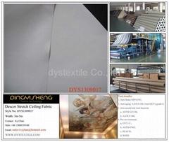 Descor 100% FR PU Polyester Stretch Ceiling Fabric