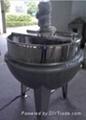 Vertical sandwich cooking boiler 1