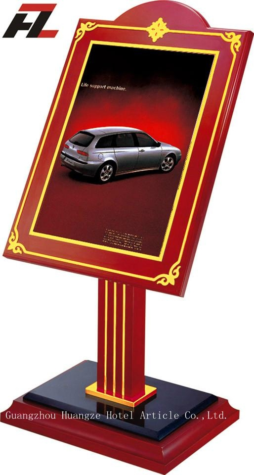 Hotel Sign Stand -Display Stands  1