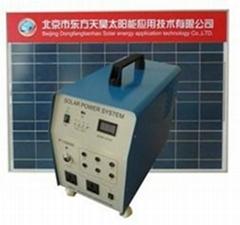 100w家用太阳能发电系统