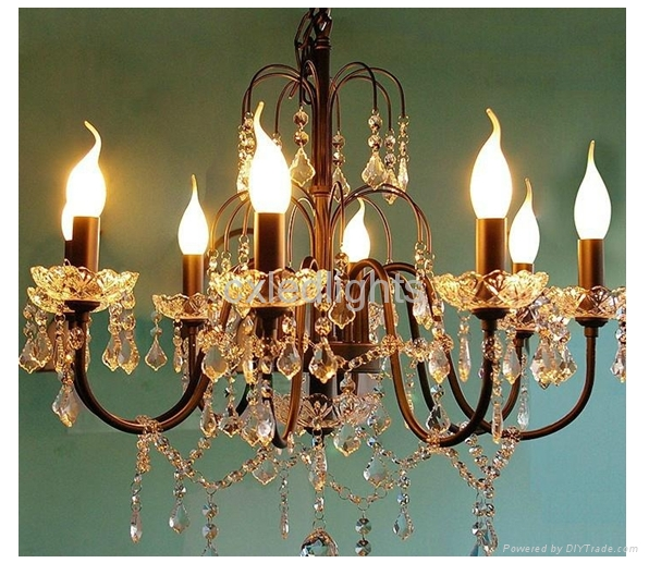 LED Candle bulb lamp  5
