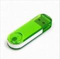 plastic swivel usb flash drive 1