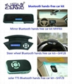 bluetooth handsfree car kit,universal for all phones and cars,CSR chip,carful 1