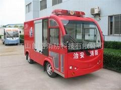 豪華電動消防車