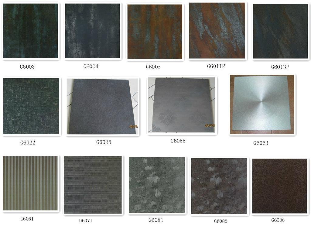 Metal Glaze Floor Tile G6061 Self Adhesive Wall Tiles West Life