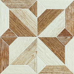 wood look porcelain tile 600*600mm bathroom wall tiles