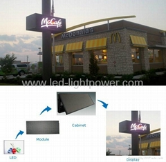 Front Accessible LED Sign