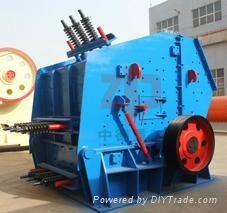 2013 new stone impact crusher machine by Zhongde