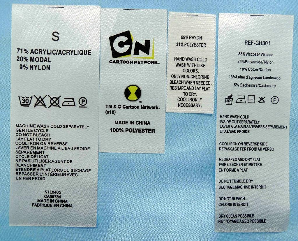 Clothing Labels Online Order
