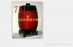 石家庄五岳一统木酒桶、装饰木酒桶